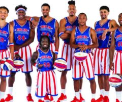The Harlem Globetrotters rookies for 2019.