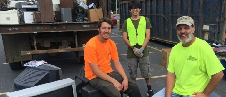 Asheville Greenworks Hard 2 Recycle Event
