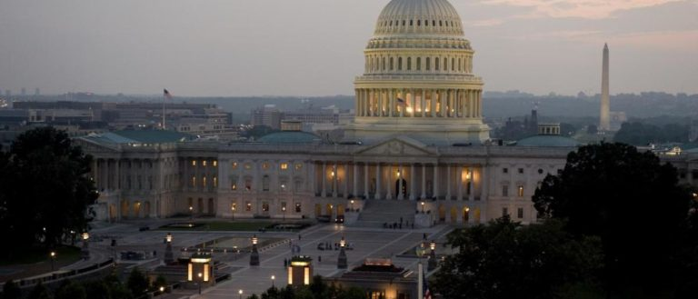 The U.S. Capitol Building in Washington, D.C., hosts both the U.S. House of Representatives and U.S. Senate.