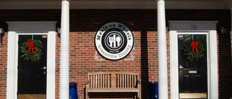 The Greenville headquarters of Meals on Wheels of Greenville.