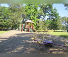 A park playground.