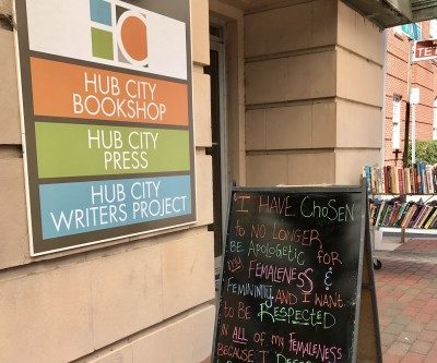 The exterior of Hub City Writers Project.