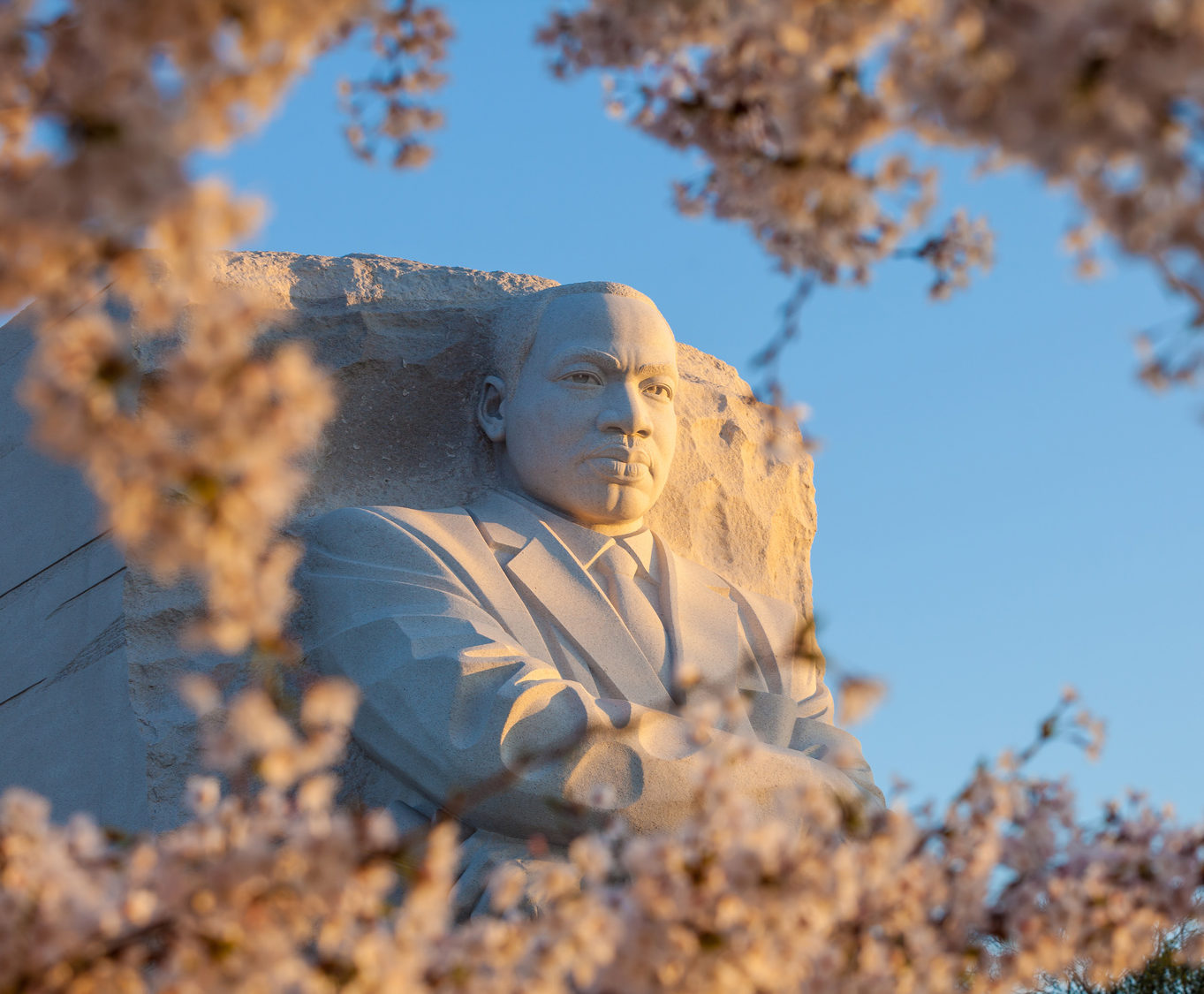 The Martin Luther King monutment in DC.