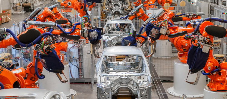 The BMW Spartanburg plant.