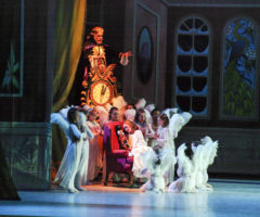 Ballet Spartanburg performers on stage for The Nutcracker.