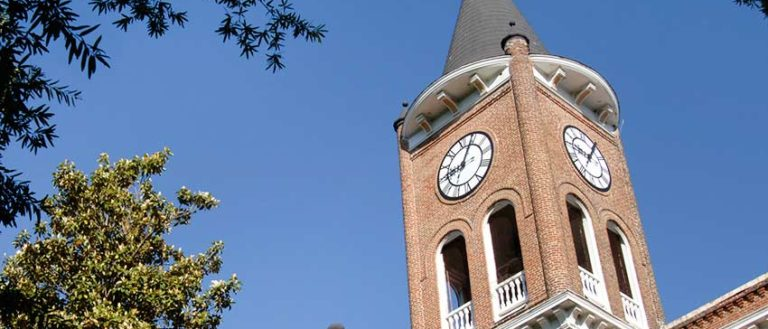 Converse Tower at Converse College.